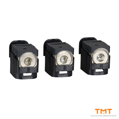Picture of 3 CONNECTORS (1X 25-95MM?)  INV/INS NSX100-250 CIRCUIT