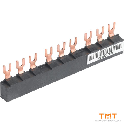 Picture of 3 TAP-OFFS BUSBAR GV2 63A 45MM PITCH