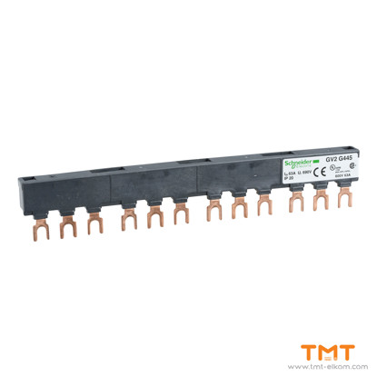 Picture of 4 TAP-OFFS BUSBAR GV2 63A 45MM PITCH