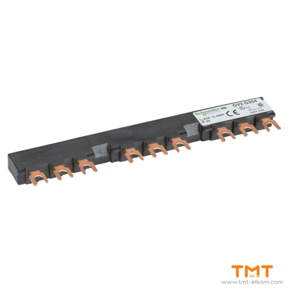 Picture of 3 TAP-OFFS BUSBAR GV2 63A 54MM PITCH