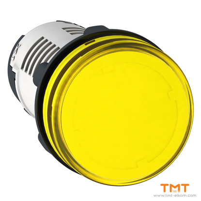 Picture of LED YELLOW PILOT LIGHT 230V