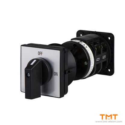 Picture of CAM SWITCH 3POLE 90° 50 A SCREW MOUNTING