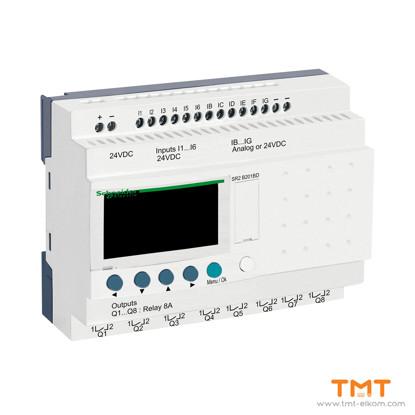 Picture of SR 20 I/O REL. 24VDC DISPL & CLK