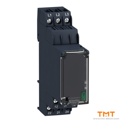 Picture of 3 PHASE CONTROL RELAY RM22-TG - RANGE 18