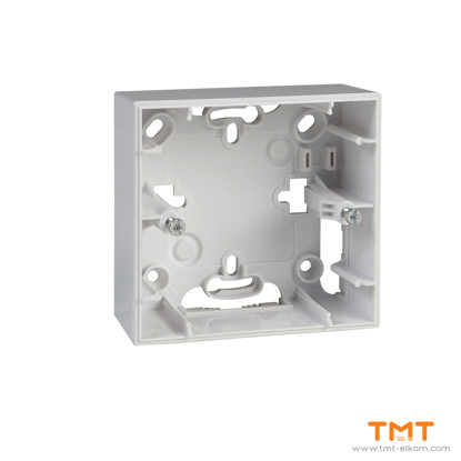 Picture of 1 gang surface mounting box white