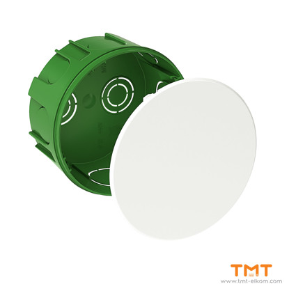 Picture of Junct.box round ш100x50 IP30 green