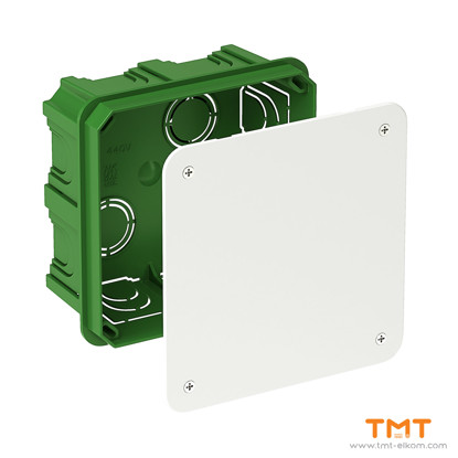 Picture of Junct.box square 100x100x50 green