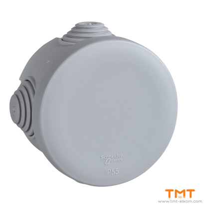Picture of Junction box round ш65x40 grey