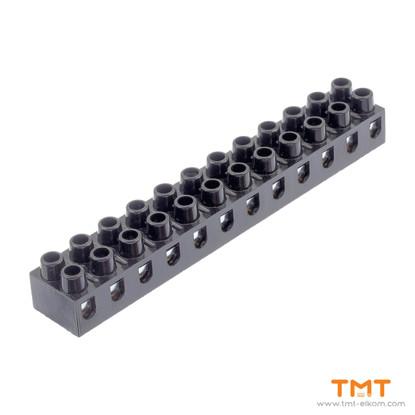 Picture of luster terminal block bakelite 4mm2 20013.01 Meloplam