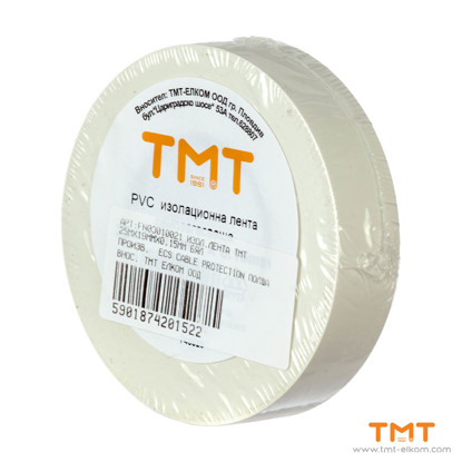 Picture of PVC Tape 19mmx25m white 10pcs/rol