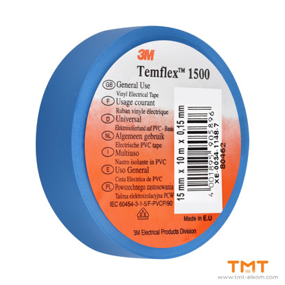Picture of PVC Tape 10mmx15m blue 3M