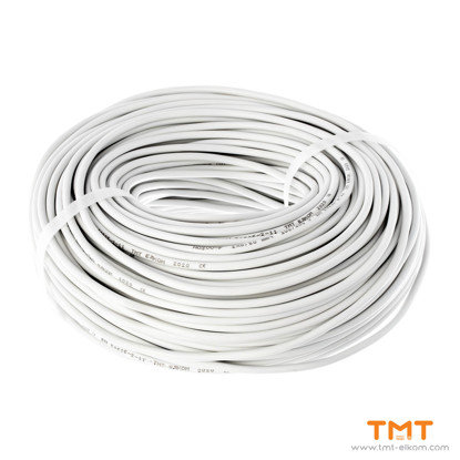 Picture of CABLE H03VV-F 2Х0.50 WHITE 300/300V