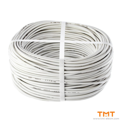Picture of CABLE H03VV-F 2Х0.75 WHITE 300/300V