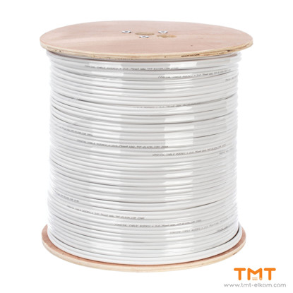 Picture of CABLE RG59 CU+2Х0.75 (EXTERNAL) 300М COAXIAL, TMT