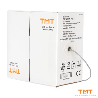 Picture of CABLE UTP CAT5E CU 4Х2Х0.5 24 AWG LAN CABLE, TMT