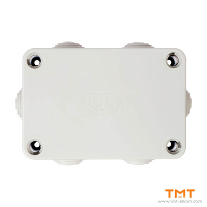 Picture of TMT ELKOM Junction box 120x80 Gray