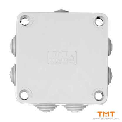 Picture of TMT ELKOM Junction box 110x110 Gray