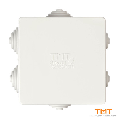 Picture of TMT ELKOM Junction box 80x80 White