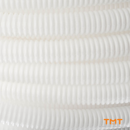 Picture of CORRUGATED PIPE D16mm,WHITE 100m