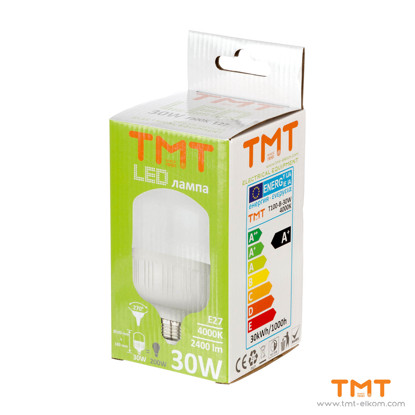Picture of LED LAMP 30W E27 4000K T100-B-30W