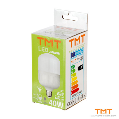 Picture of LED LAMP 40W E27 4000K T120-B-40W