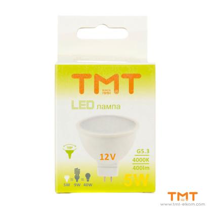 Picture of LED LAMP 5W G5.3 12V 4000K TMT