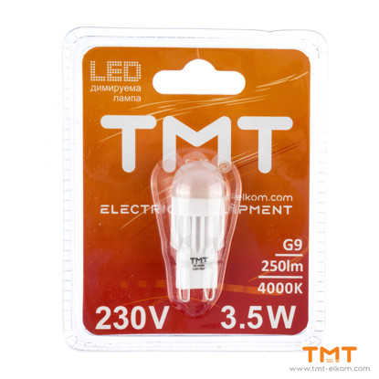 Picture of LED LAMP 3.5W G9,250Lm,4000K,TMT