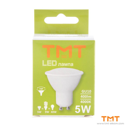 Picture of LED LAMP 5W GU10 4000K TMT