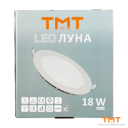 Picture of LED panel 18W,4000K,Ф225mm