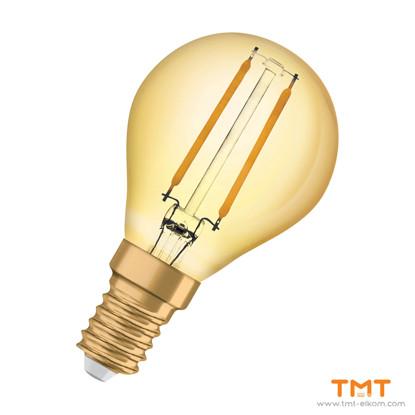 Picture of LED LAMP VINTAGE 1960 CL P 4.5W Е14,2500K,420lm,230V
