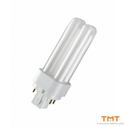 Picture of COMPACT FLUORESCENT LAMP DUL.D/E 13W/840 G24q-1 OSRAM