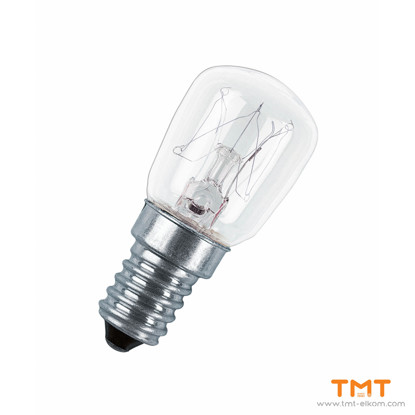 Picture of INCANDESCENT LAMP SPC.T26/57 CL 15W Е14  240V OSRAM