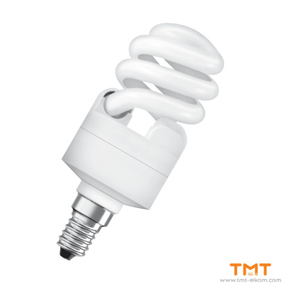 Picture of COMPACT FLUORESCENT LAMP DULUX TWIST 12W/865 Е14 OSRAM