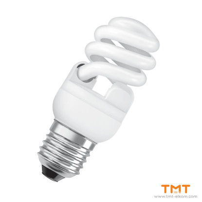 Picture of COMPACT FLUORESCENT LAMP DS.MTW 12W/865 E27 OSRAM