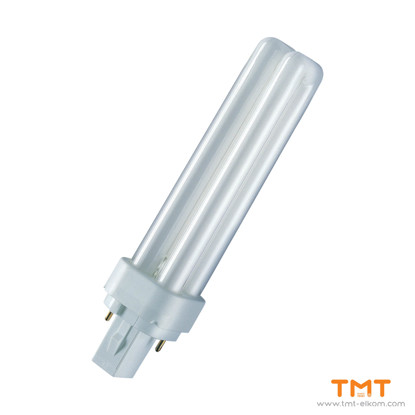 Picture of COMPACT FLUORESCENT LAMP DUL.D 26W/830 G24d-3 OSRAM