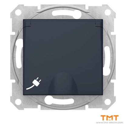 Picture of Sedna-socket sideE-16A shut lid wo fr gr