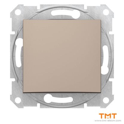 Picture of Sedna-1p switch-10AX wo frame titanium