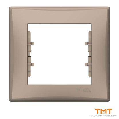 Picture of Sedna - 1-gang frame - titanium