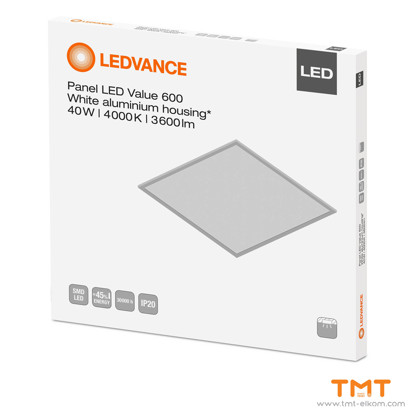 Picture of LEDVANCE PANEL VALUE LED 600 40W 4000K WT