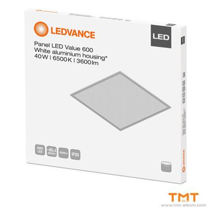 Picture of LEDVANCE PANEL VALUE LED 600 40W 6500K WT
