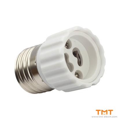 Picture of LIGHT SOURCE ADAPTER E27-GU10 KANLUX
